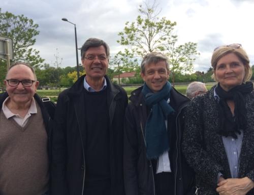 RENCONTRE AVEC JO SPIEGEL, Maire de Kingersheim en Alsace au mois de mai 2019 pour un partage d'expérience sur la démocratie constructive